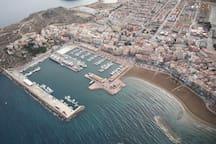 Puerto de Mazarron  20 min de route 20 min driving