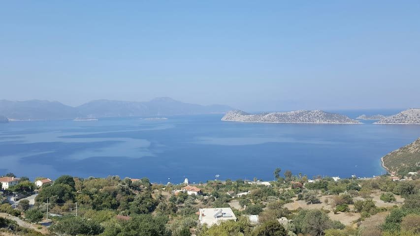 spectacular views of Aegean sea - Marmaris - Hus