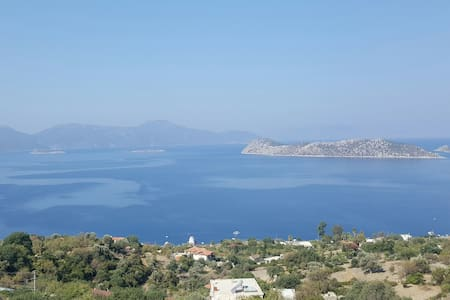 spectacular views of Aegean sea - Marmaris