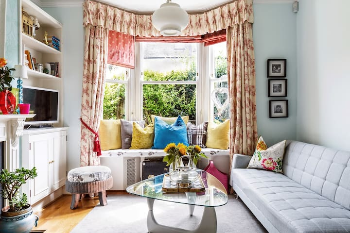 Bright, Spacious House in Fulham
