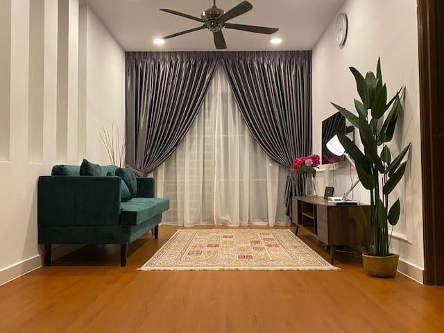 Cozy Place with Maxis WiFi [Netflix] Saujana Utama