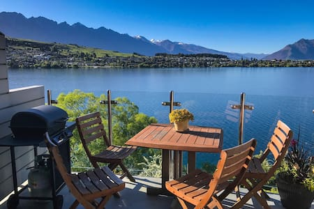 Lakeside King Bedroom + Own Bathroom Close to Town - Queenstown