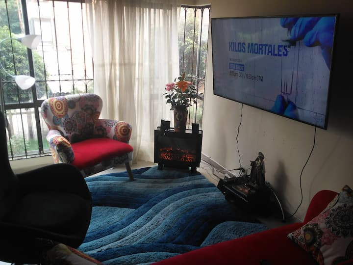 Alojamiento privado en el mejor lugar de Bogotá