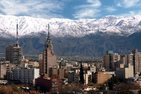 Apartment with view to the city and mountains. - Mendoza - Daire
