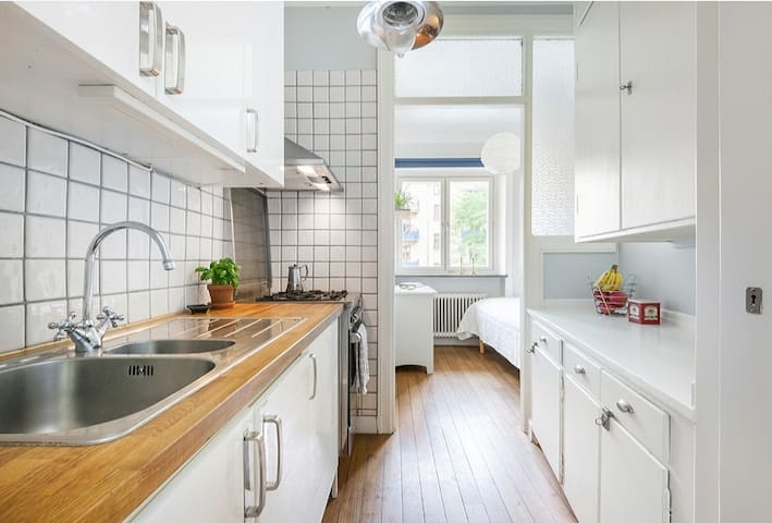 Perfect located - lovely neighborhood very central - Stockholm - Apartment