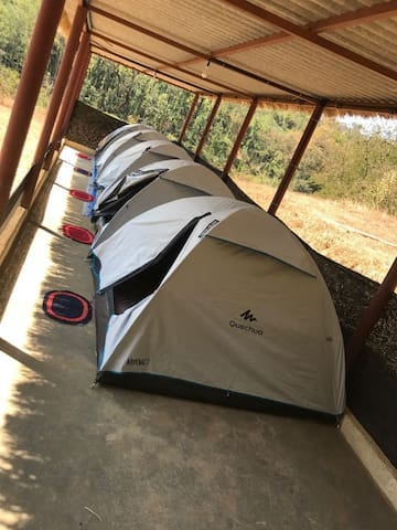 Tent stay