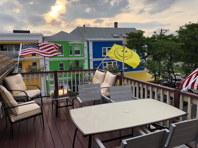 Large Patio Two Bedroom  in DePasquale Square