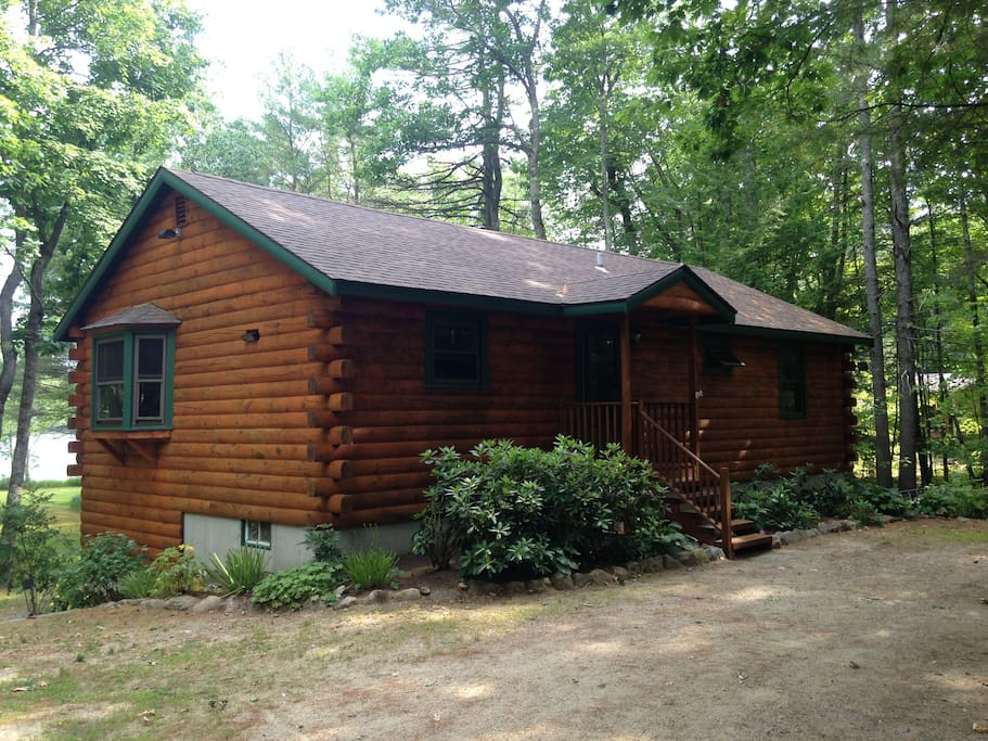 Log Home Front