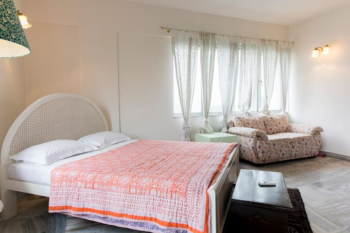 Large & airy in central, prime Ballygunge.