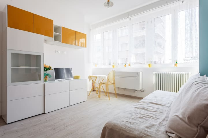 Riva Reno Apartment: bright and central flat