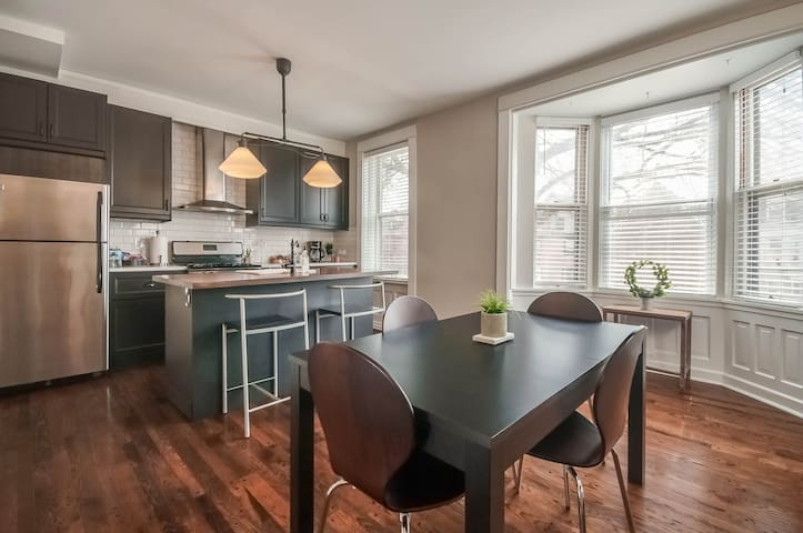 CWE at Your Feet!  Beautiful, Spacious Apartment
