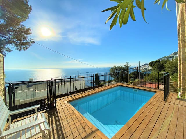 Beautiful house with magnificent views over the bay of Rosas - Villa Mahe