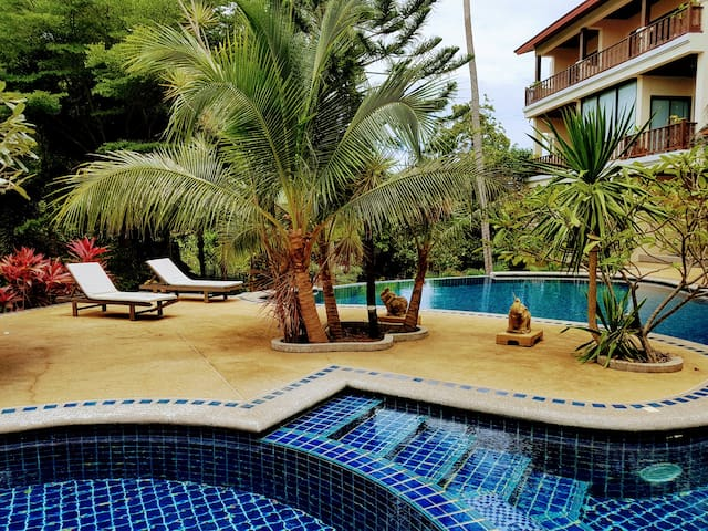 Samui. 2BD apartment 550 meters from the  beach