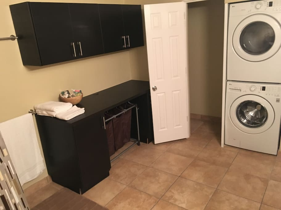 Washer and Dryer with detergent!