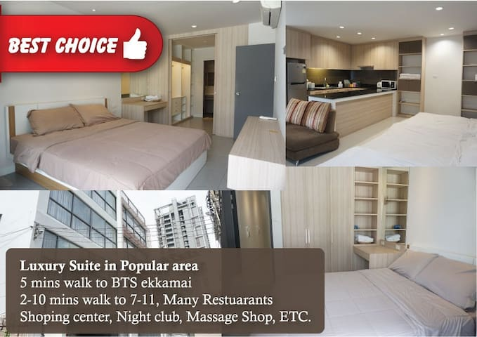 2.Luxury Suite for10pax Popular area,BTS,shoppin