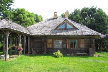 Luxury Log House & Farm Property