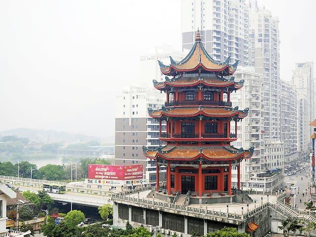 【市中心的市中心】古城边 江滨房 吃喝玩乐样样方便 - Zhangzhou Shi - Condominium