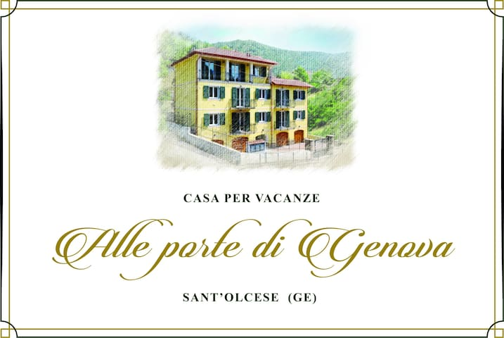"""Casa per vacanze """"Alle Porte di Genova"""""""