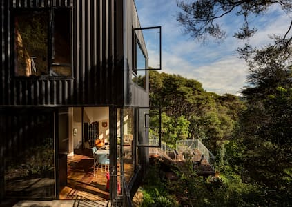 Blackpool House, Modern Design, 5 mins to beach - Auckland - Dom