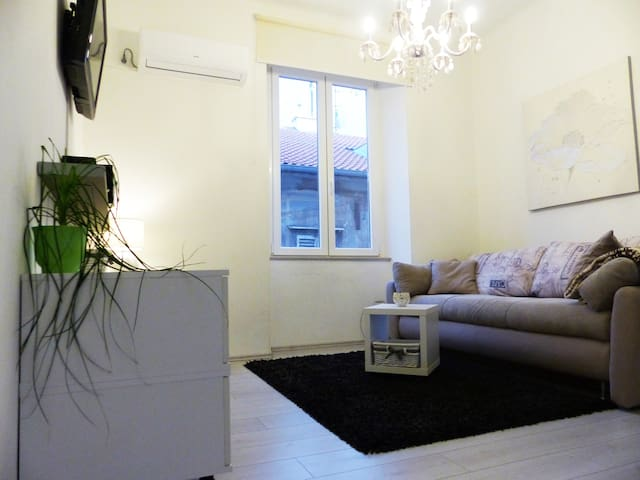 Modern studio apartment in the center of Rijeka