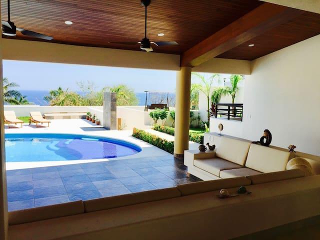 Super casa, la mejor vista de Huatulco