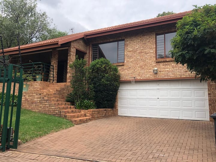 Three bedroom house in Johannesburg.