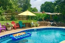 Pool is open May 1 - Oct 1