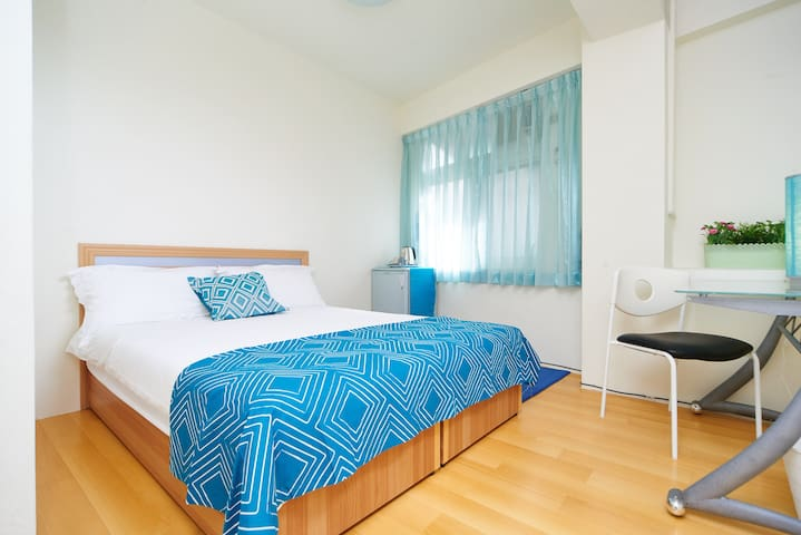 [Turquoise] suite near MRT Yongan - Yonghe District - Appartement