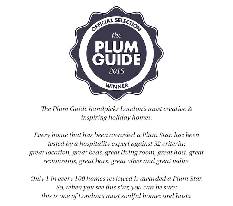 featured on the exclusive Plum Guide site