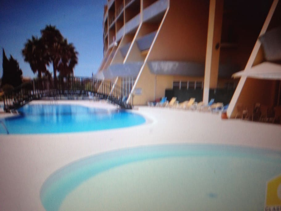 Condo adult and kids pools