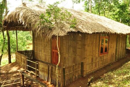 Meghalaya Umden Village Bamboo Hut