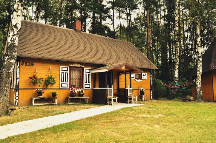 Bora Zdrój Domek drewniany 6 osobowy