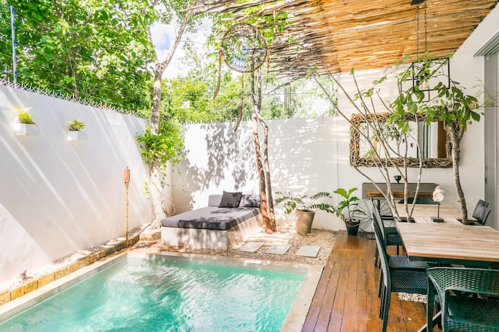 VillaWayak🏝 Tulum - Sanitized Private Villa&Pool.