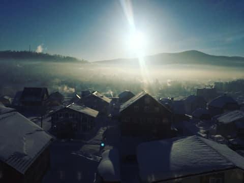"""Уютное """"ШАЛЕ"""" в  посёлке Шерегеш"""