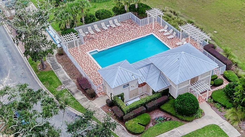 Lap Pool and Cabana