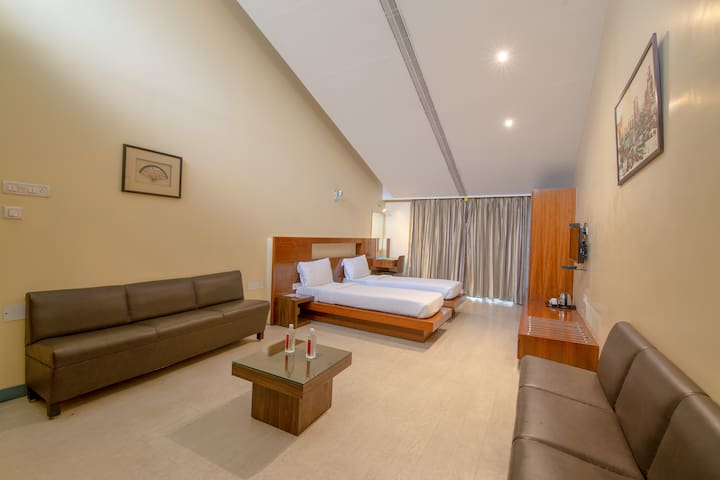 Comfortable rooms for solo and group travelers- KP