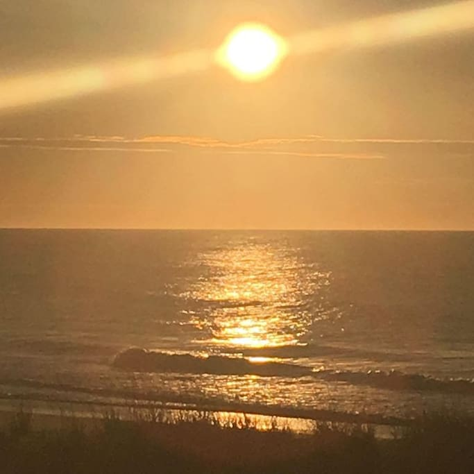 Gorgeous sunrise views from condo