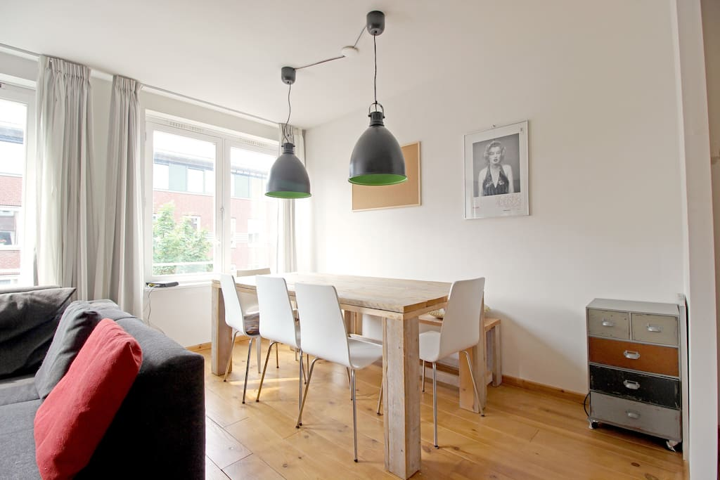 The dining table where you can eat your delicious meals