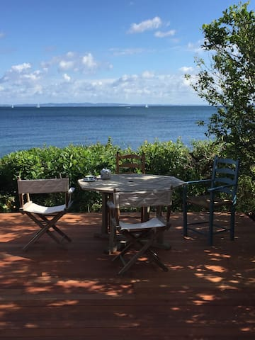 Sunfilled summerhouse with fantastic sea view - Hornbæk - Chalet