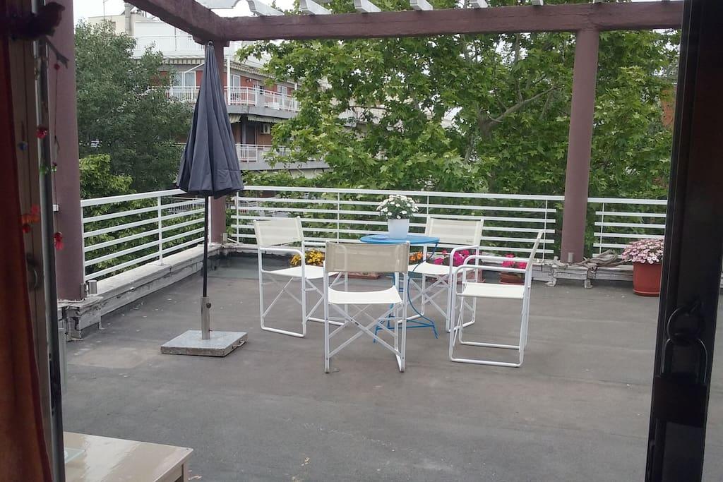 The veranda