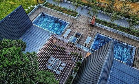 Bungalow Garden 02 (HT Garden)#Sauna&Pool&1BR