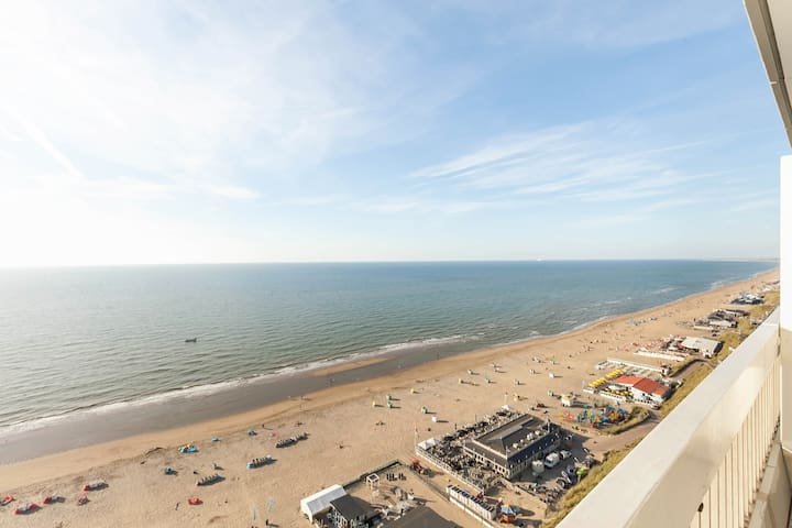 Sea View luxury apartment (30 min. from Amsterdam) - Zandvoort - Apto. en complejo residencial