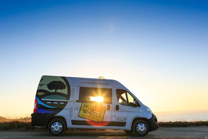 Hostel on Wheels - Travel Across Portugal