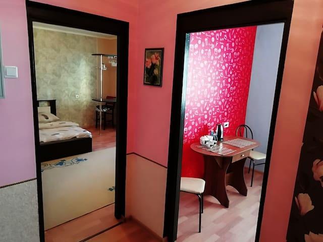 Уютная однокомнатная квартира в спальном районе