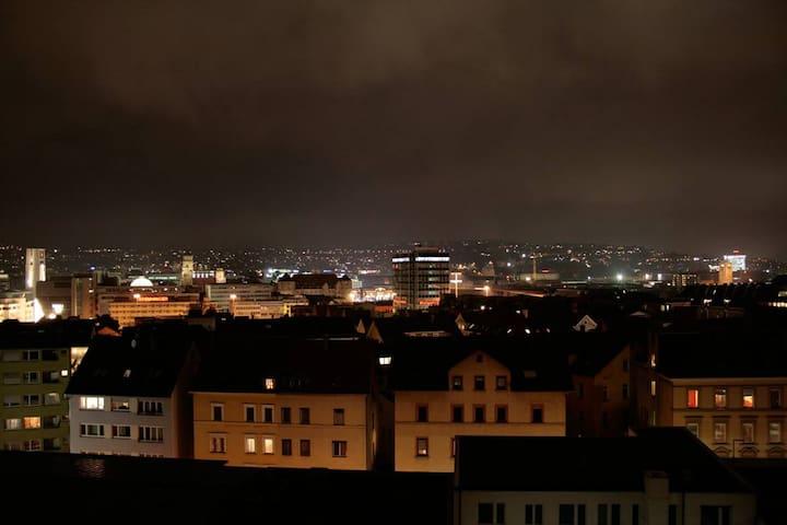 Panorama-Blick über Stuttgart :-)