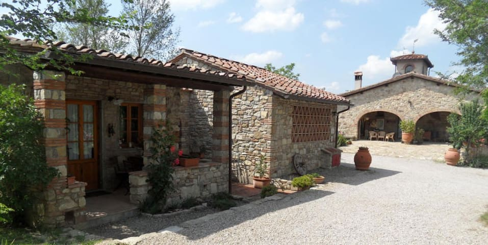 Chianti Country Cottage - Jacuzzi in the vineyards - San Casciano in Val di pesa