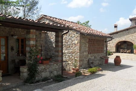 Chianti Country Cottage - Jacuzzi in the vineyards - San Casciano in Val di pesa - Hus