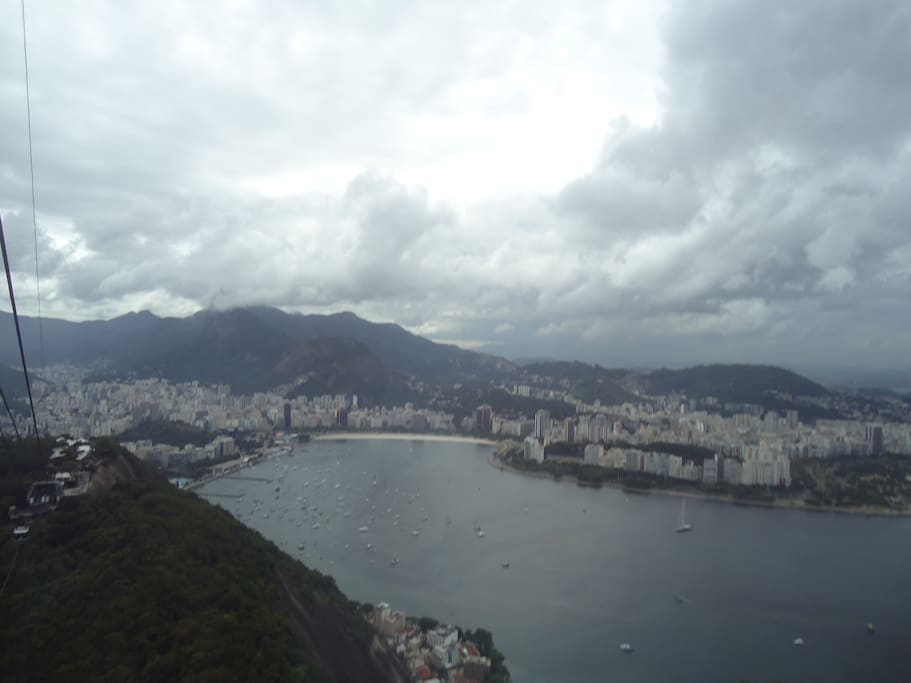 Vista do alto do pão de Açucar