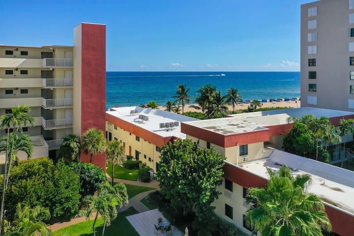 Tropical Lush One Bedroom at La Costa Beach Club!