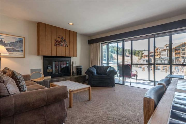 Ski In/Out Center Village Copper Mountain Condo